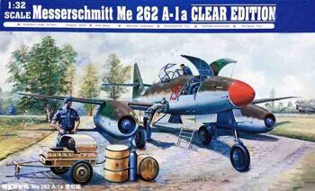 02261 Messerchmitt Me 262 A-1a clear edition