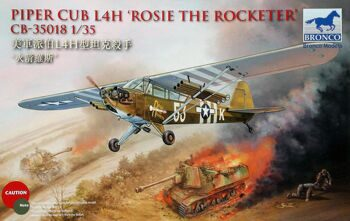 CB35018 1/35 Piper Cub L4H Rosie The Rocketeer