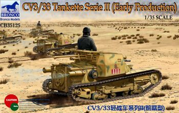 CB35125 1/35 CV3/33 Tankette Serie II (Early Production)