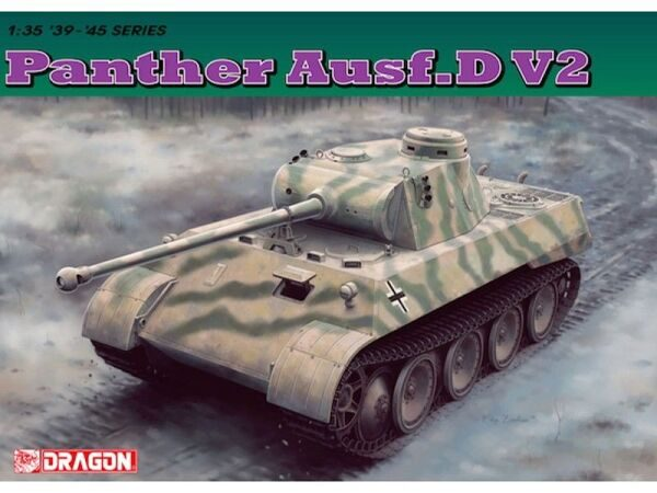 6822 1/35 Panther Ausf. D V2