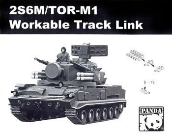 TK01 1/35 2S6M/TOR-M1 Workable Track Link