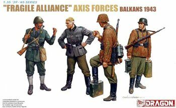 "6563  ""Fragile Alliance"" Axis forces Balkans 1943"