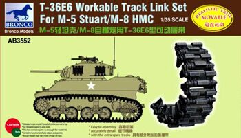 AB3552 T36 E6 Workable Track Set For M-5M/8