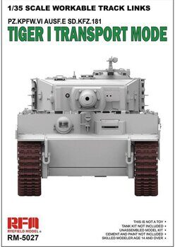 RM-5027 1/35 TIGER I TRANSPORT WORKABLE TRACK LINKS