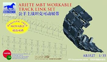 AB3527 C-1 Ariete Workable Track link Set