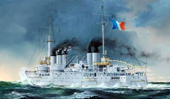 86505 French Navy Pre-Dreadnought Battleship Condorcet