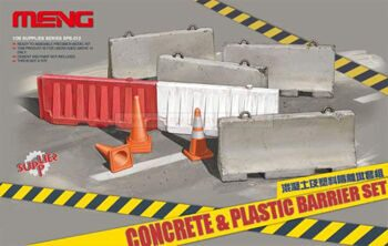 "SPS-012 ""Concrete & Plastic Barrier Set """