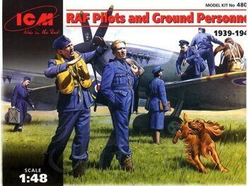 48081 RAF Pilots and ground personnel 1939-1945
