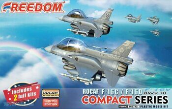 "162712 ROCAF F-16C& D BLOCK 70 F-16V ""VIPER"" (2 kits in one box)"
