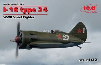 32001 I-16 type 24 WWII Soviet Fighter