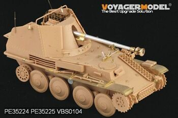 PE35224 1/35 WWII German Marder III M Basic (For TAMIYA 35255)