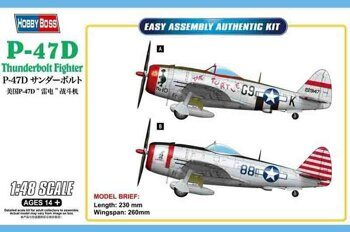 85811 P-47D Thunderbolt Fighter