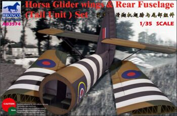AB3574 1/35 Horsa Glider Wing & Rear Fuselage (Tail Unit) Set