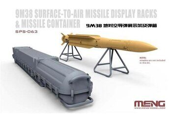 SPS-063 Russian 9M38 Surface-to-air Missile Dispaly Racks & Missile Container
