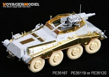 PE35167 1/35 WWII Sd.Kfz 234/3 8Rad (For DRAGON 6257)