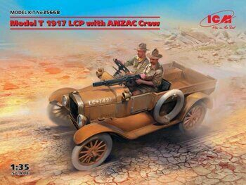 35668 Model T 1917 LCP с экипажем ANZAC