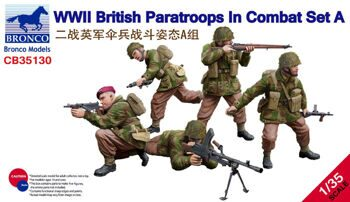 CB35130 1/35 WWII British Paratroops In Combat Set A