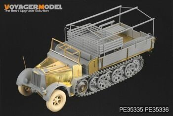 PE35335 1/35 WWII German Sd.Kfz.7 8t Late Production (For DRAGON 6562)