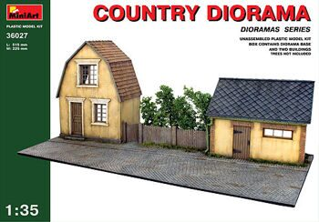 36027  Country diorama