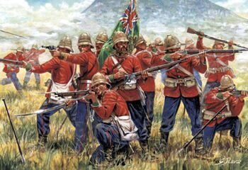 6050 British Infantry (Zulu War)