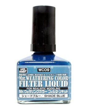 WC09 Mr. Weathering Color  - Shade Blue 40ml