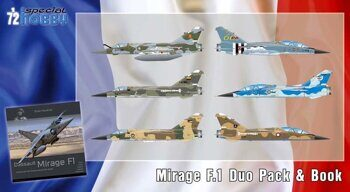 72414 Mirage F.1 Duo Pack & Book