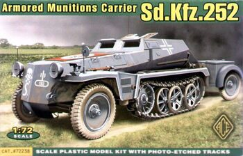 72238  Sd.Kfz.252 German armored munitions carrier