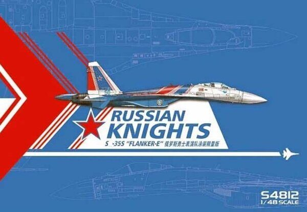 "S4812 S-35S Flanker E ""Russian Knights"""