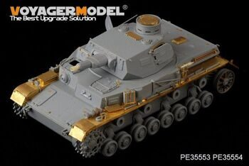 PE35553 1/35 WWII German Pz.Kpfw.IV Ausf.A Basic(For DROGON 6767)