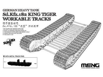 SPS-038 1/35  German Heavy Tank Sd.Kfz.182 King Tiger Workable Tracks