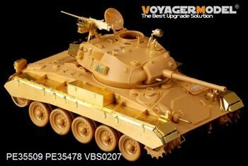 PE35509 1/35 WWII British Army M24 Chaffee Light Tank basic(For Bronco 35068)