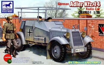 CB35051 German Adler Kfz.14 Radio