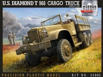 35805 1/35 US Diamond T 968A Cargo Truck (Late open Cab)