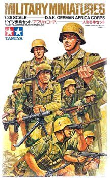 35037 D.A.K German Africa Corps Infantry