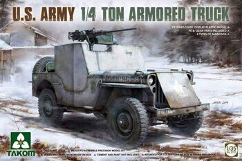 2131  U. S. Army 1/4 ton Armored Truck
