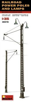 35570  Railroad Power Poles & Lamps