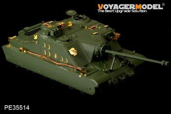 PE35514  WWII British A39 Tortoise heavy assault tank(FOR MENG TS-002)