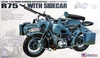 L3510 1/35 WWII German BMW R75