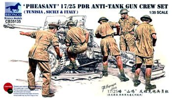 CB35135 17/25 pdr Anti-tank Gun Crew Set