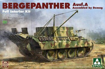 2101 1/35 Bergepanther Ausf.A Assembled by Demag