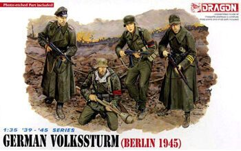 6020 1/35 German Volkssturm Berlin 1945
