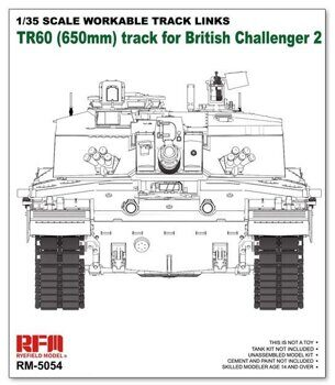 RM-5054 Workable track links for Challenger 2