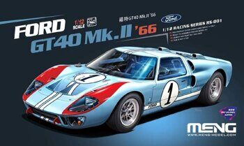 RS-001 Ford GT40 Mk.II '66 (PRE-COLORED EDITION)