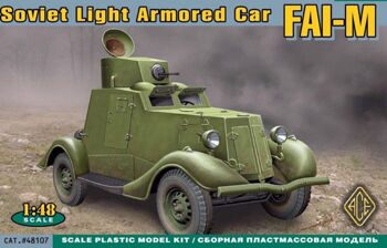 48107  FAI-M Soviet light armored car