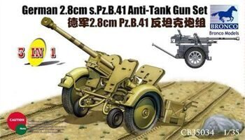 CB35034 1/35 PzB41 Anti-Tank gun set