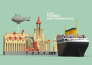 SL-002 Titanic Port Scene & Vehicle