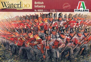 6095 NAPOLEONIC WARS - BRITISH INFANTRY