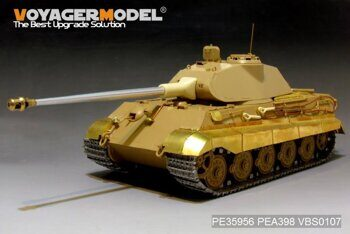 PE35956 WWII German King Tiger (Porsche Turret) (MENG TS-037)