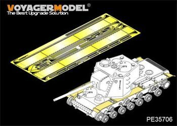 PE35706 1/35 Russian KV-5 (Object 225) Heavy Tank Fenders (For TAKOM 2006)