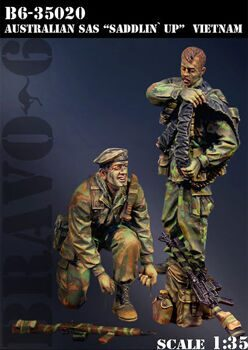 35020 1/35 AUSTRALIAN SAS SADDLIN UP VIETNAM 1968